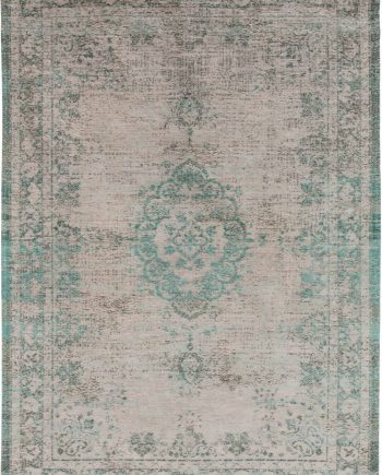Louis De Poortere rug LX 8259 Fading World Medaillon Jade Oyster
