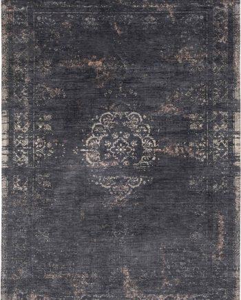 Louis De Poortere rug LX 8263 Fading World Medaillon Mineral Black