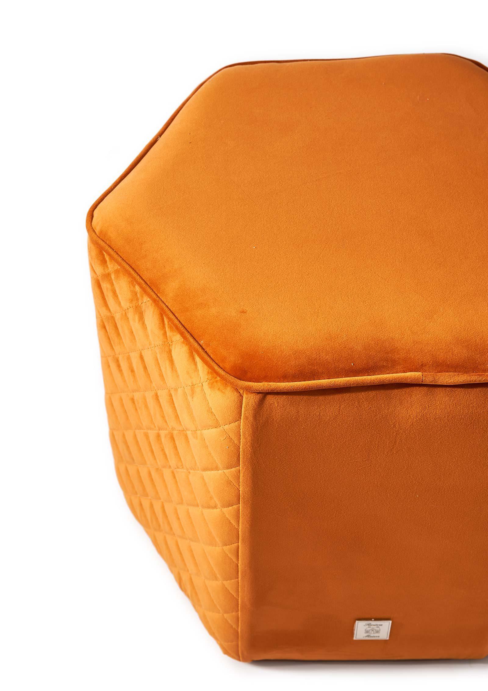 Riviera Maison pouf Parklane Pumpkin 4320002 4