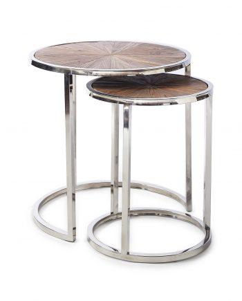 Riviera Maison side table set Greenwich Set of 2 377410 1