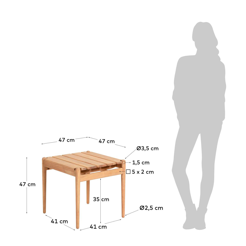 side table Casandra Simkey 826M46 6