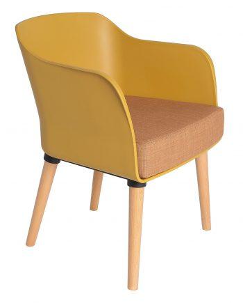 armchair Casandra Victoria 077 yellow 1
