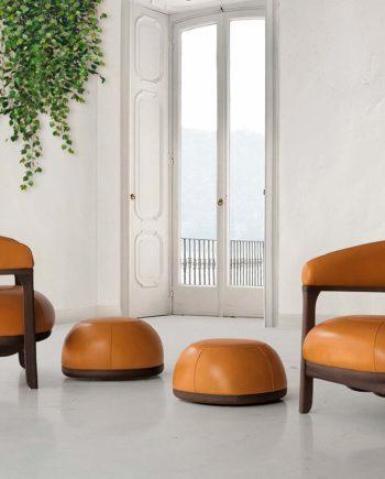 Tecni Nova 1290 sillon naranja 04 interior