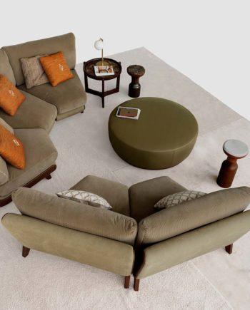 Tecni Nova 1745 sofa curvo 09 interior